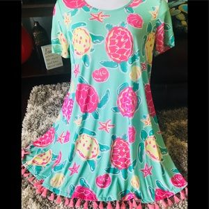 Large NWT Simply Southern dress or tunic top